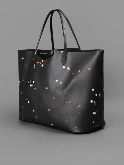 15b5260db077 Givenchy antigona shopping bag large with confetti print and zip detachable  pouch inside