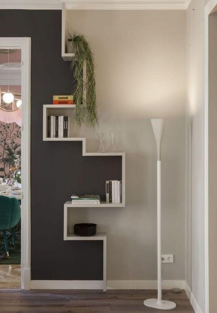 46 Erstaunliche Bücherregale Dekorieren von Ideen für das Wohnzimmer #wohnzimmer