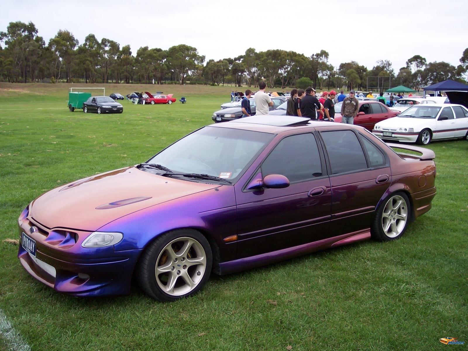 Pyroray S Ford El Falcon Xr6 Aussie Muscle Cars Ford Falcon