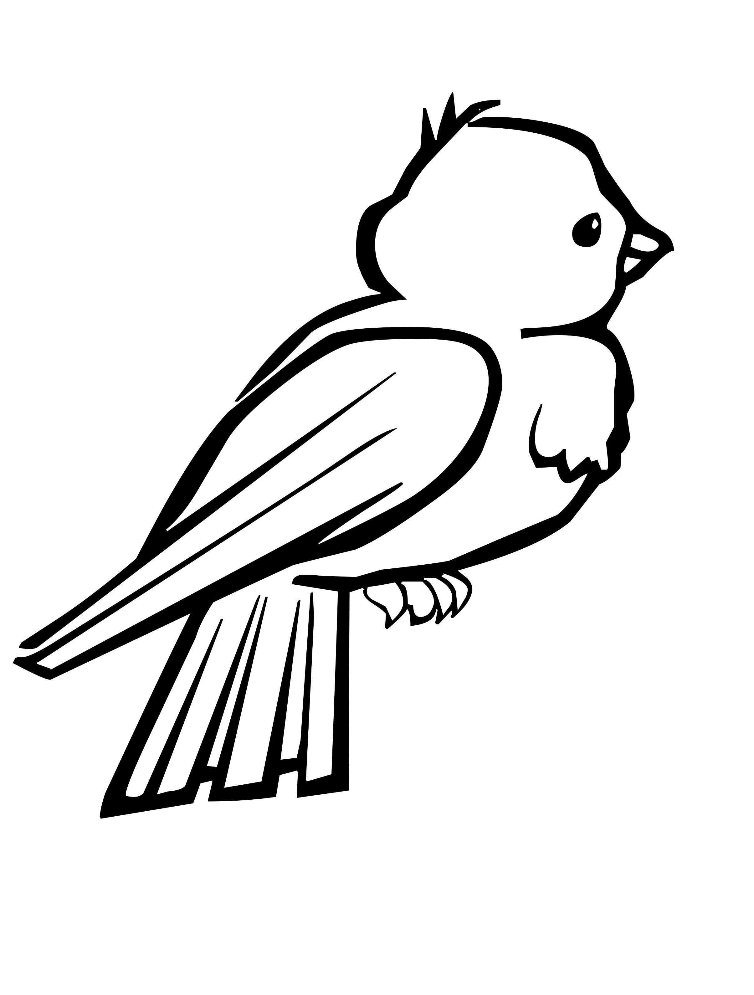 Small Birds With Feathers Beautiful Coloring Pages For Kids Printable