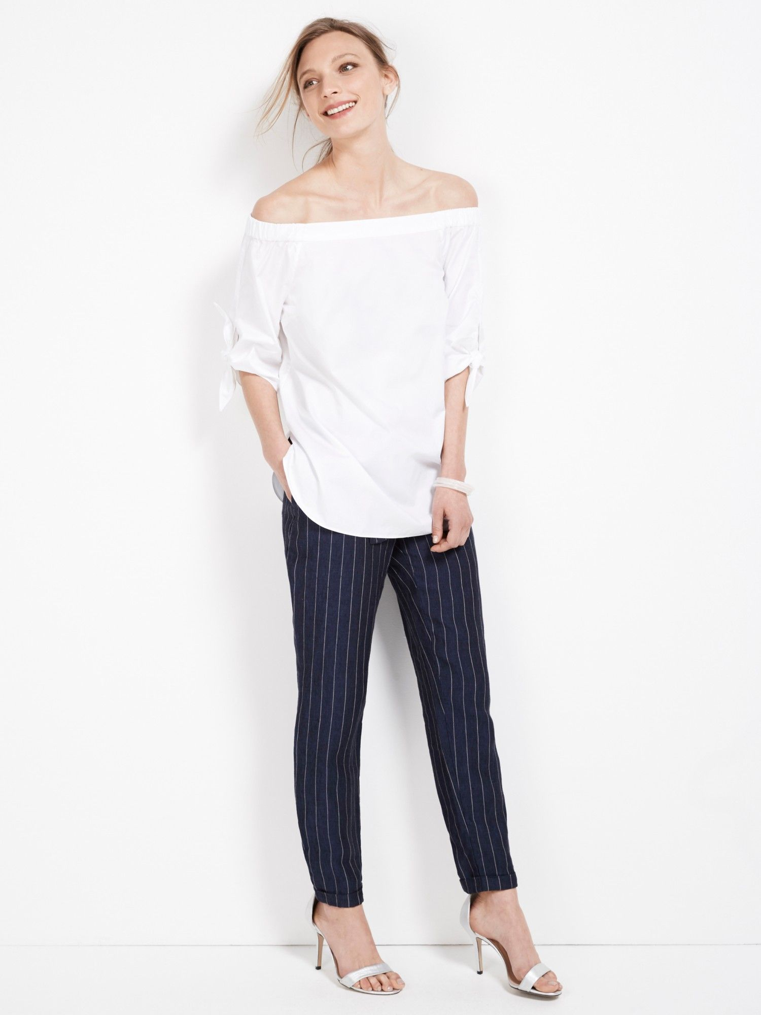 White shirt LookBook - September 2015 Sussan