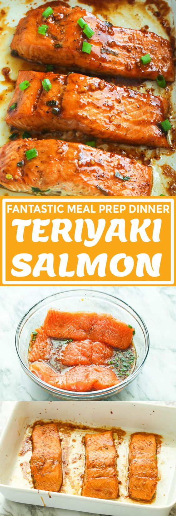 Teriyaki Salmon - Immaculate Bites