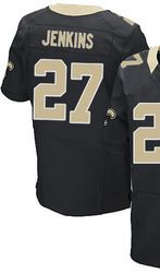 78.00--Malcolm Jenkins Jersey - Nike Elite Stitched Black Home New ... 0e9dd6857