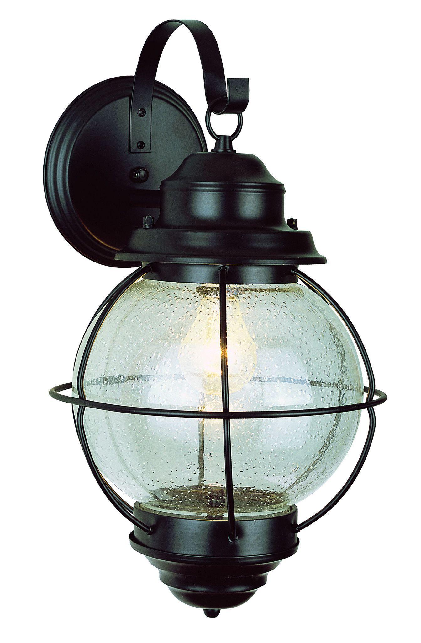 trans globe lighting 69901 bk onion lantern wall light 15 black