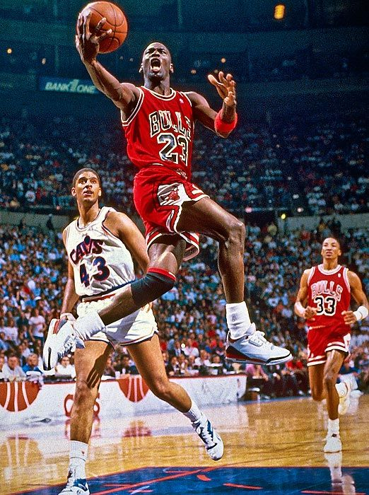 Michael Jordan Air Marquer 90 Points