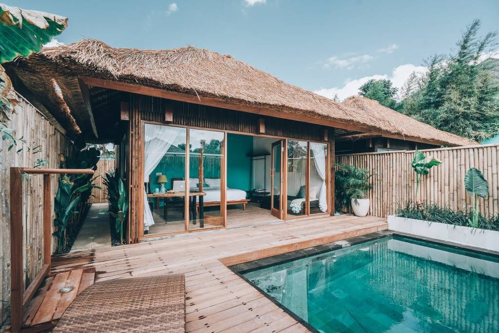 Private Pool Domus Villa 2 1 Min To Surf Beach Villas For Rent In Mengwi Bali Indonesia Bali Hotels Bali Accommodation Bali