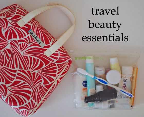 8f0945c5605 I love my beauty products so narrowing down my beauty travel essentials is  always a challenge. Here s what I pack for international travelling.