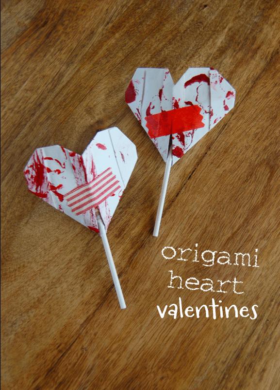 15 fantastic valentine origami crafts  valentines origami