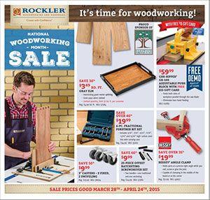 Rockler Woodworking And Hardware Catalog April 2015 Projecten Om
