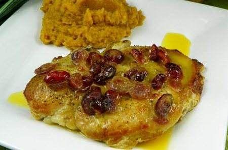 Pork Cranberry Sauce Sweet Potato Recipe