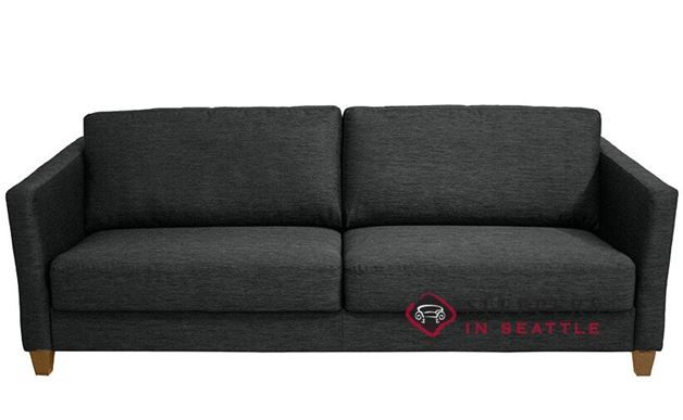 Quick Ship Monika By Luonto King Fabric Sofa Fast Shipping Bed Sleepersinseattle
