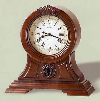 Bulova Marlborough Chime Table Clock. H1Bulova Marlborough Chime Table  Clock_h1Bulova Marlborough Chime Table Clock.
