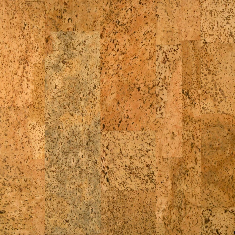 Sand Dunes Cork Cork Flooring 5 in. x 7 in. Take Home