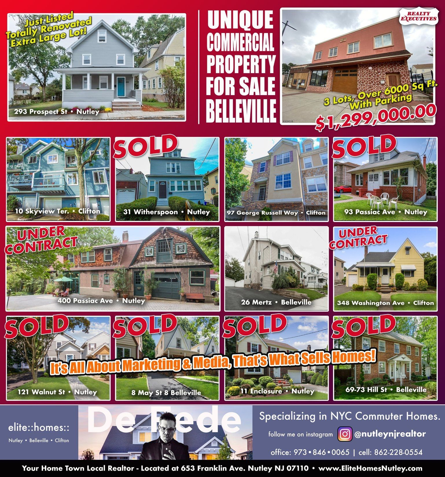 Here Are Some Homes We Just Closed On And Some For Sale Belleville Clifton Commercial Property For Sale