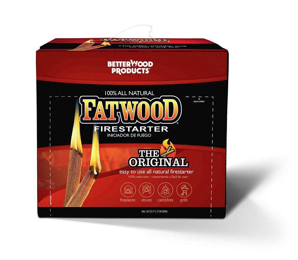 Fatwood Firestarter Pine Resin Kindling 10 Lbs.