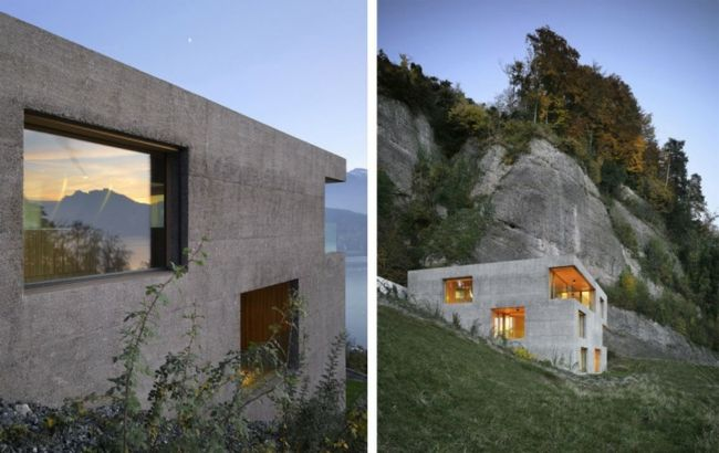 Photo of Cube-shaped holiday home in Switzerland with dream panorama – Dec