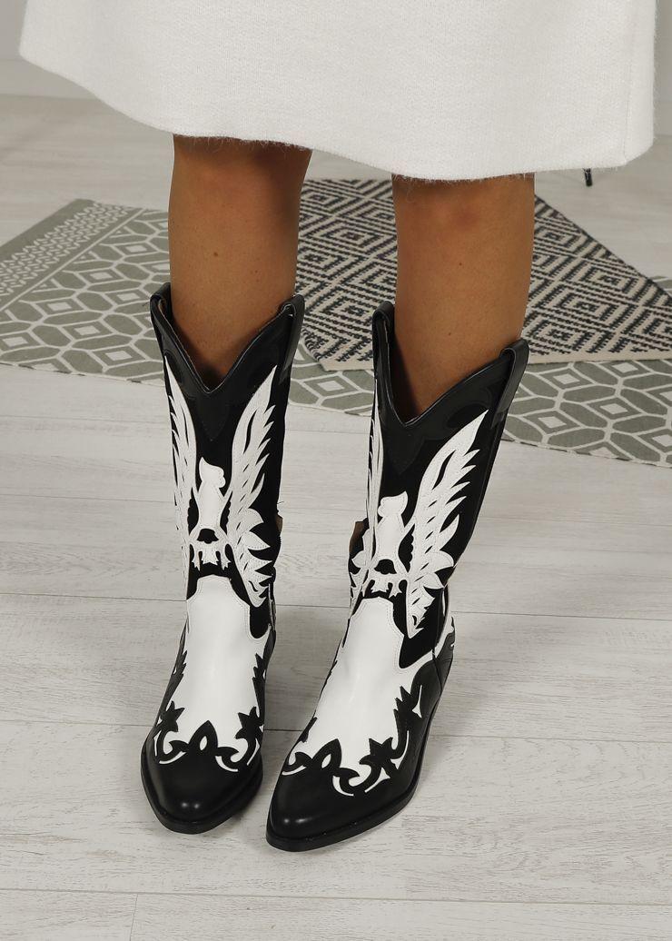 Botines Camperos Topo Bordados Desire Shop Boots Woman Online Calzado Mujer Botas Cowboy Mujer Botas Vaqueras Mujer