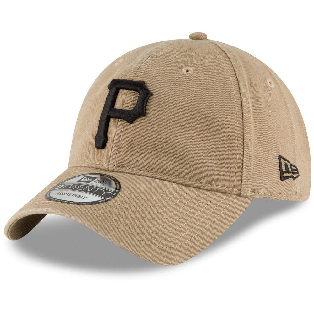 Men S New Era Khaki Pittsburgh Pirates Core Classic Secondary 9twenty Adjustable Hat Adjustable Hat Hats Hats For Men