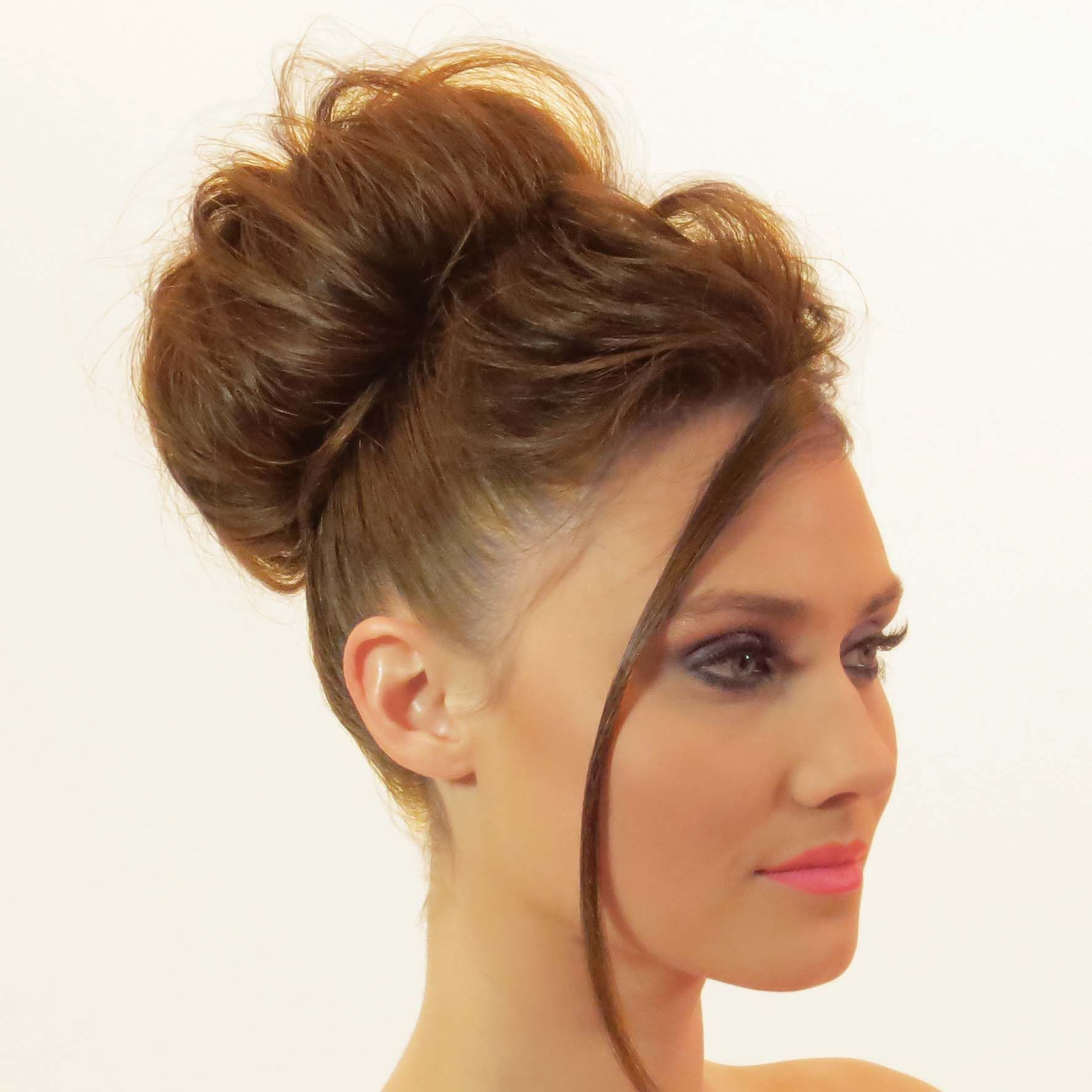 """textured chignon """"easy"""" collection dvd cover 2015 http://www"""