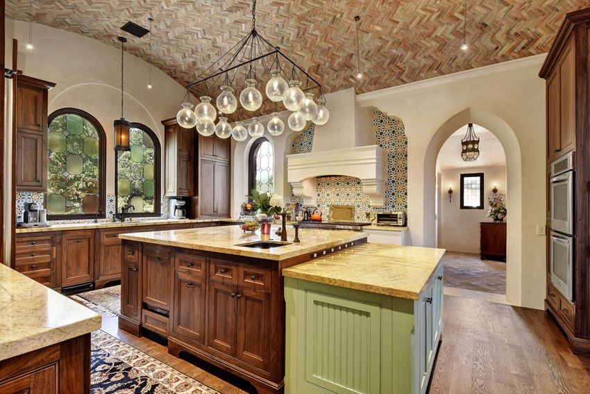 23 Beautiful Spanish Style Kitchens (Design Ideas) | Mediterranean .