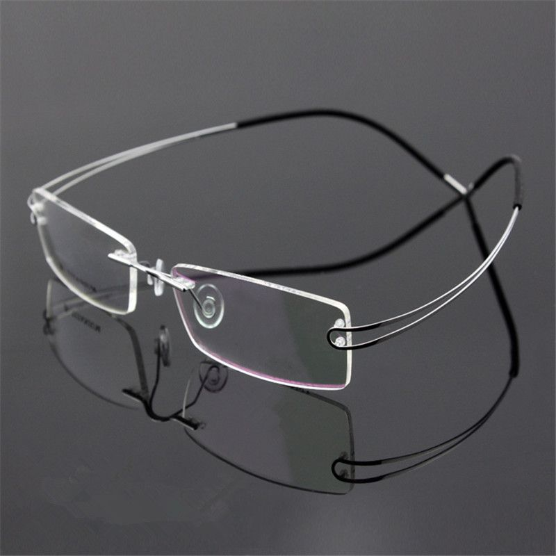 Free Shipping] Buy Best New Titanium Brand Silhouette Glasses Ti ...