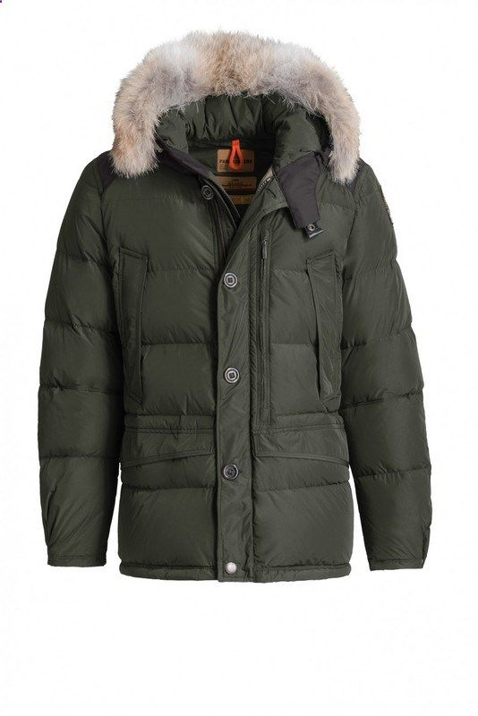 Sale Parajumpers Carmel Parka Mens Army Green