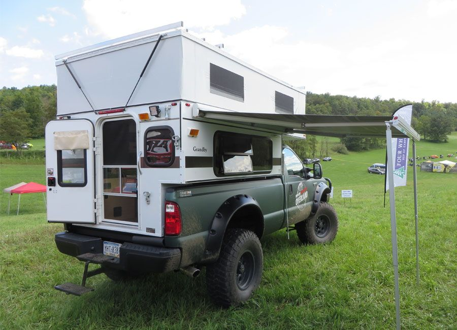 GRANDBY POPUP (8.0' LONG BED) Four Wheel Campers Low