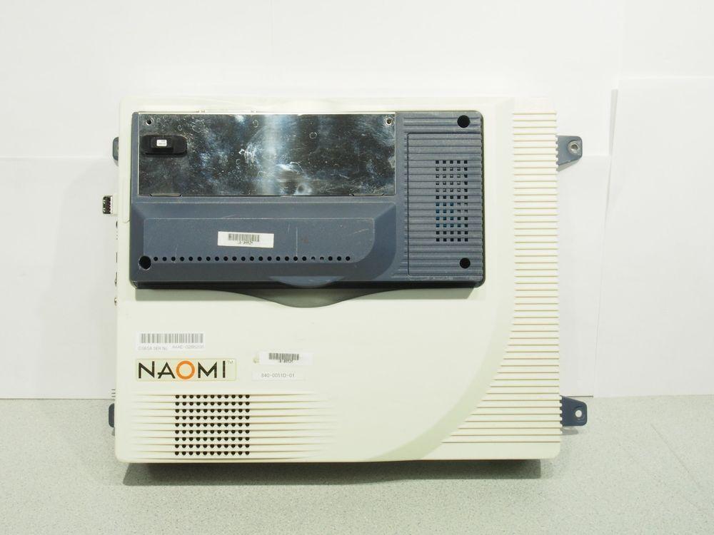 Sega NAOMI GD-ROM Arcade System No CD ROM w/ Security Key