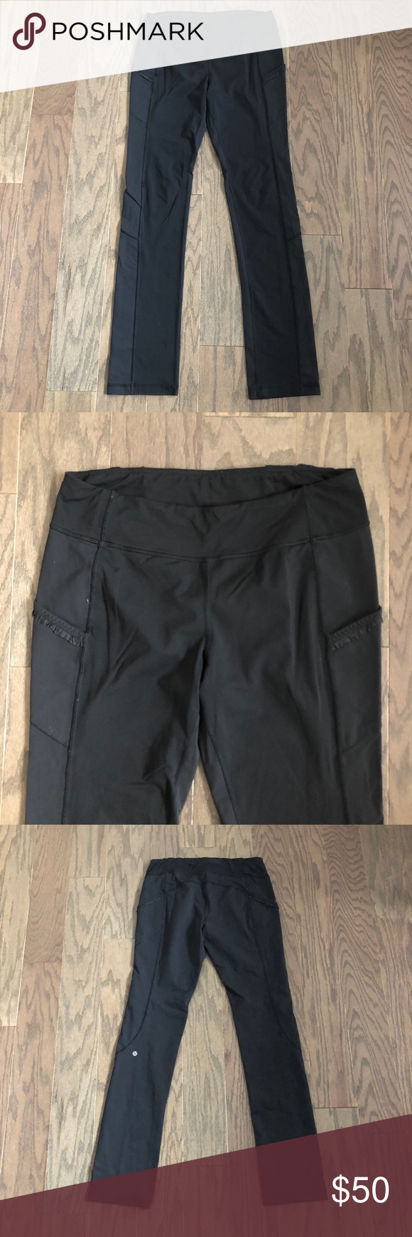 2b65fb8be9c68 Lululemon Run: Bright At Night Pant Leggings Very good condition, missing  the reflective section