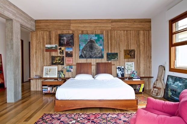 A Casa Rosa De Nando Reis Em Sao Paulo Home Interiores