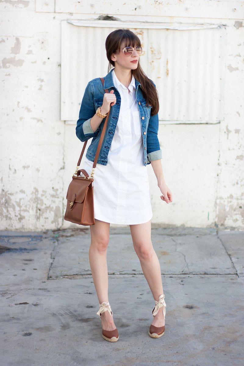 White shirtdress options shirtdress chambray and minimal