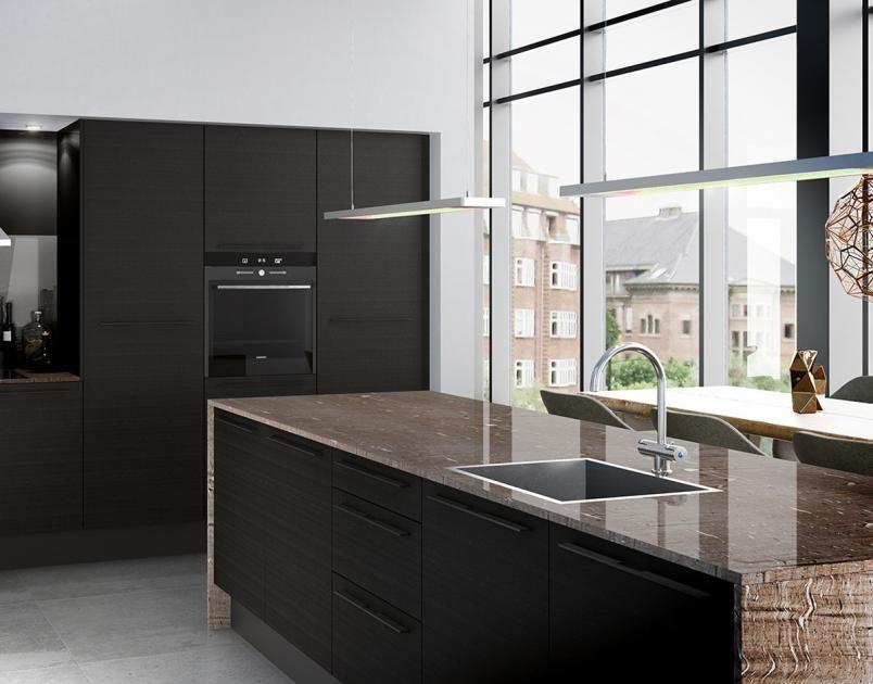 Arbeitsplatten für die Küche - Aus Holz, Naturstein und Keramik - schöner wohnen küche