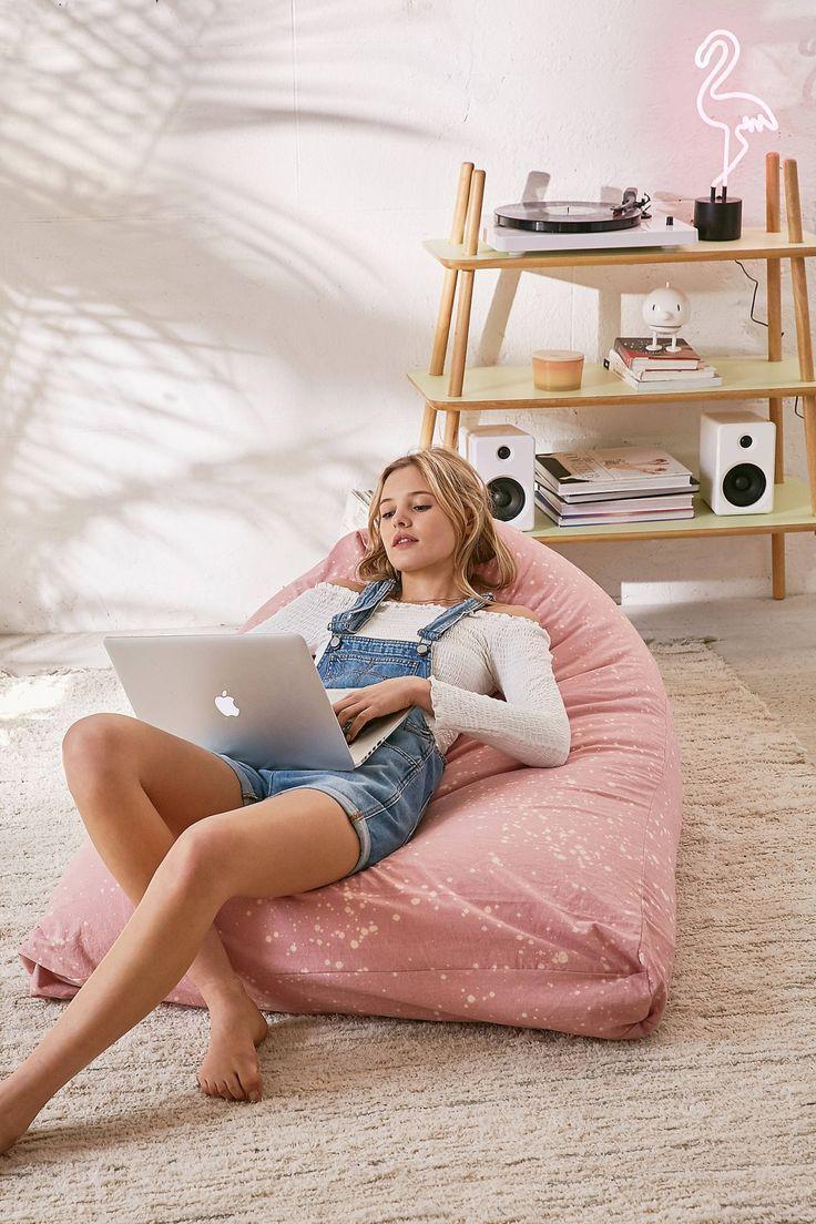 Triangle Bean Bag Lounge Chair Bean Bag Lounge Chair Lounge Chair Bedroom Bean Bag Lounge