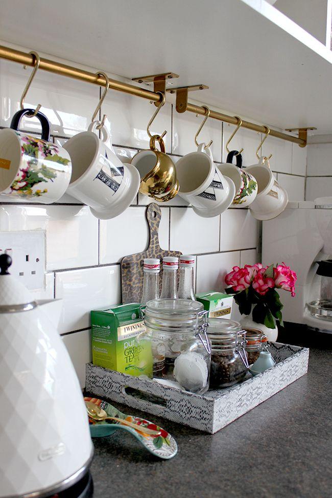 Ikea Kitchen Rail For Tea Coffee Sugar