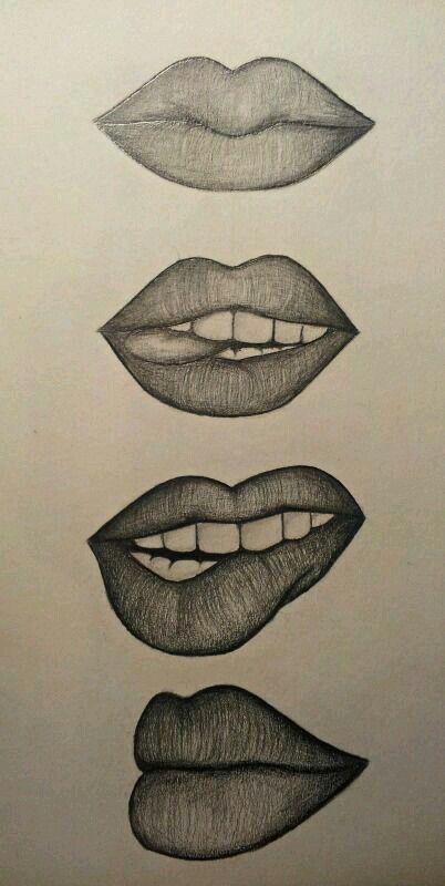Los Labios Art Drawings Simple Lip Drawing Art Drawings