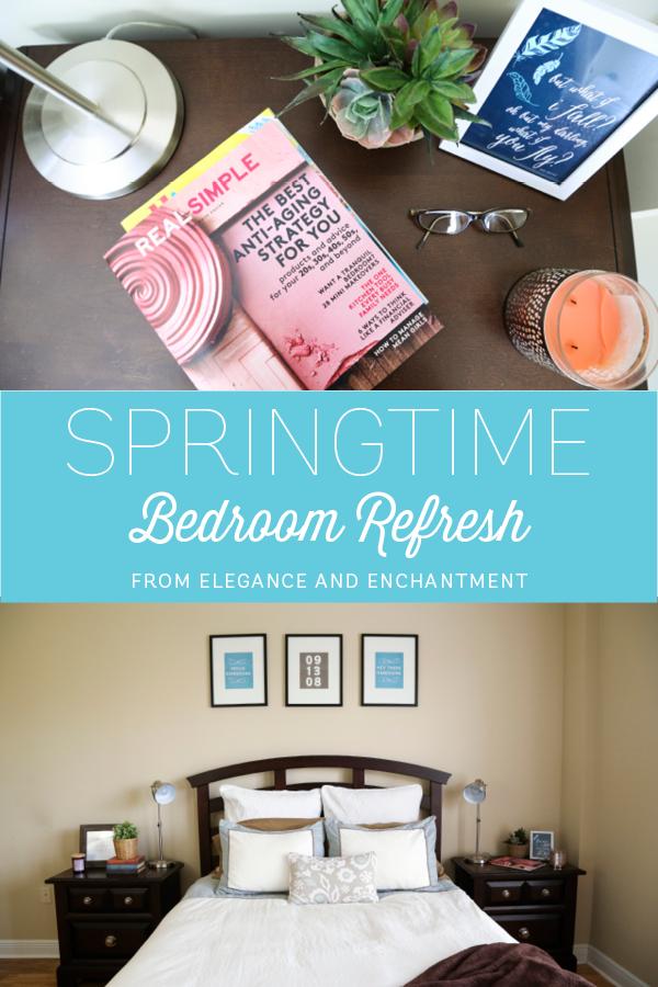 Springtime Bedroom Refresh from Elegance & Enchantment
