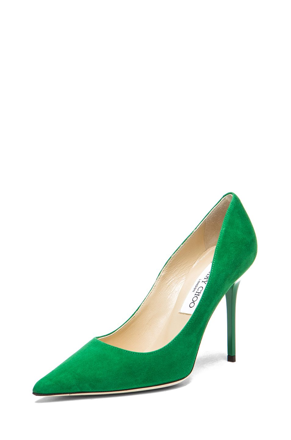 a9cae838e Jimmy Choo | Abel Pointed Pump in Emerald | My Love | Pumps, Jimmy ...