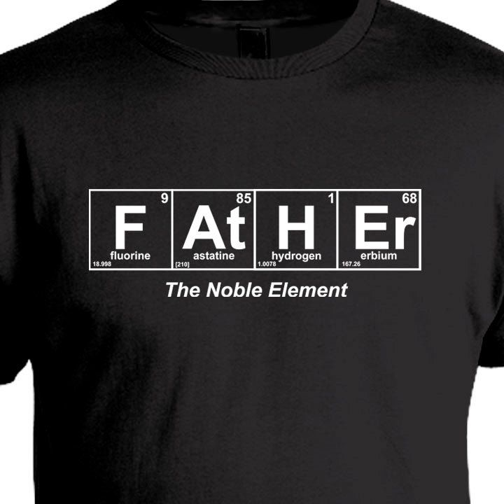 Fatheru0027s Day Shirt, Periodic Table Shirt, Gift for Father, Christmas - best of tabla periodica berilio