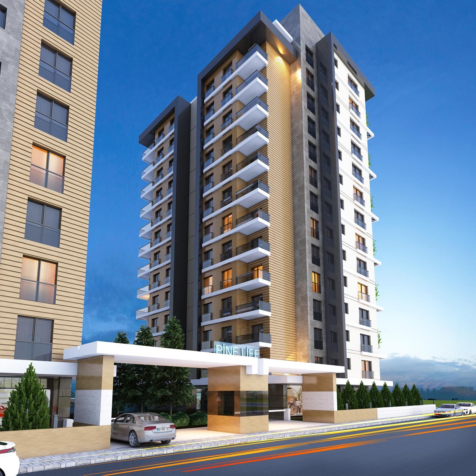Mimarl k mimari d cephe tasar m 3d building for Batiment architectural