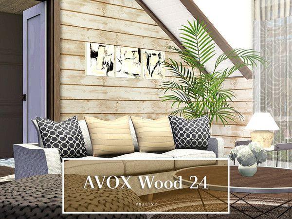 Pralinesims AVOX Wood 24