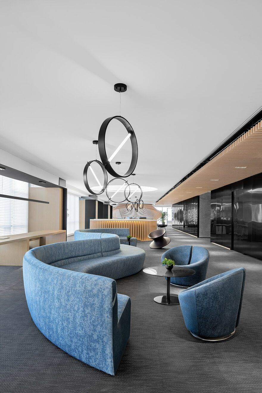 Future Metropolitan Sample Office For Poly Real Estate By Cun