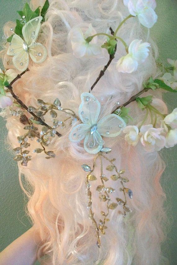 Marie Antoinette Spring Fling Wig Ready to by avictorianflower, $69.99