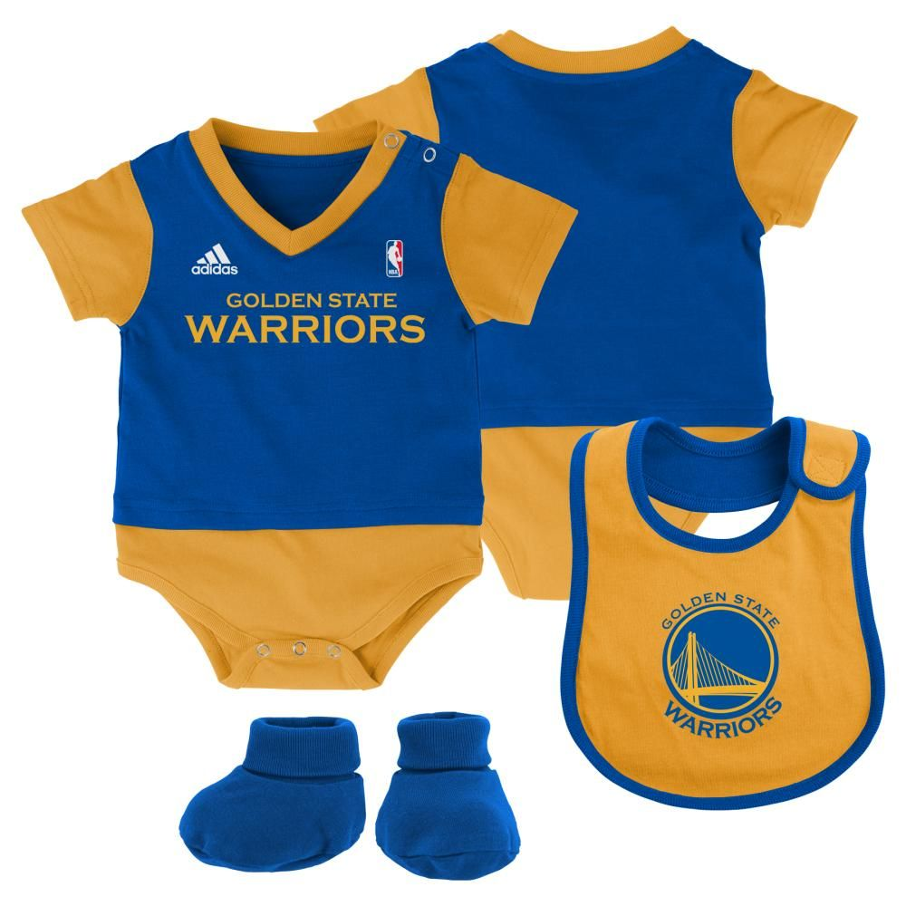 official photos 3679d 98114 Warriors Baby Jersey Outfit | Golden State Warriors Baby ...