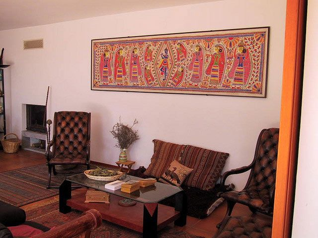 Ever thought of using traditional madhubani paintings as for Art painting for home decoration