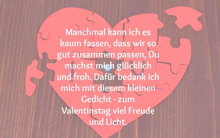 Valentinstag Gedichte Für Verliebte Valentinstag Text