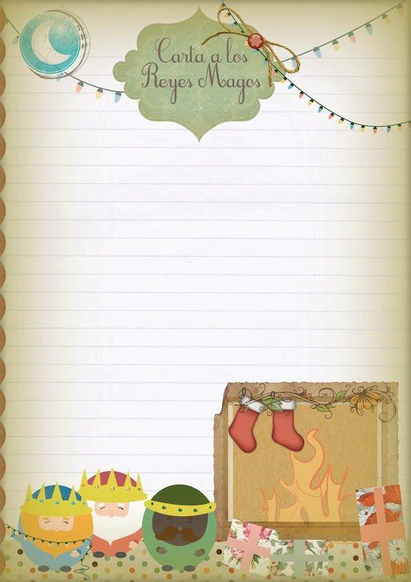 2 cartas para los Reyes Magos para imprimir ¡gratis | Magos, Rey y ...