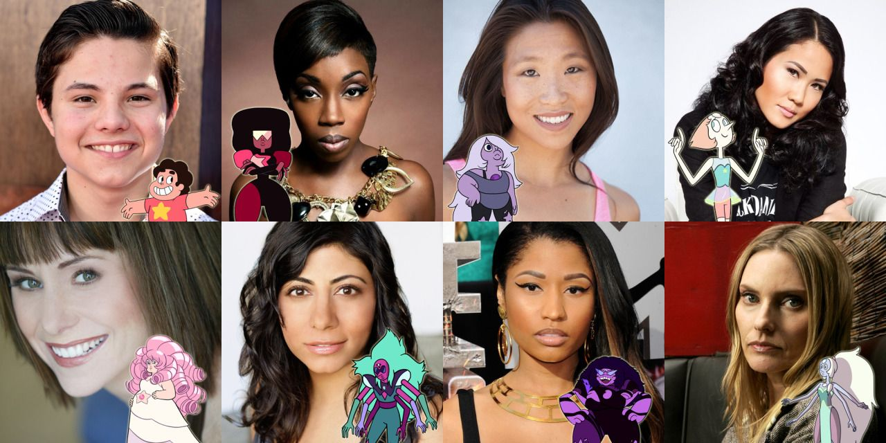 steven universe voice cast 1 | Voices of Animation | Pinterest