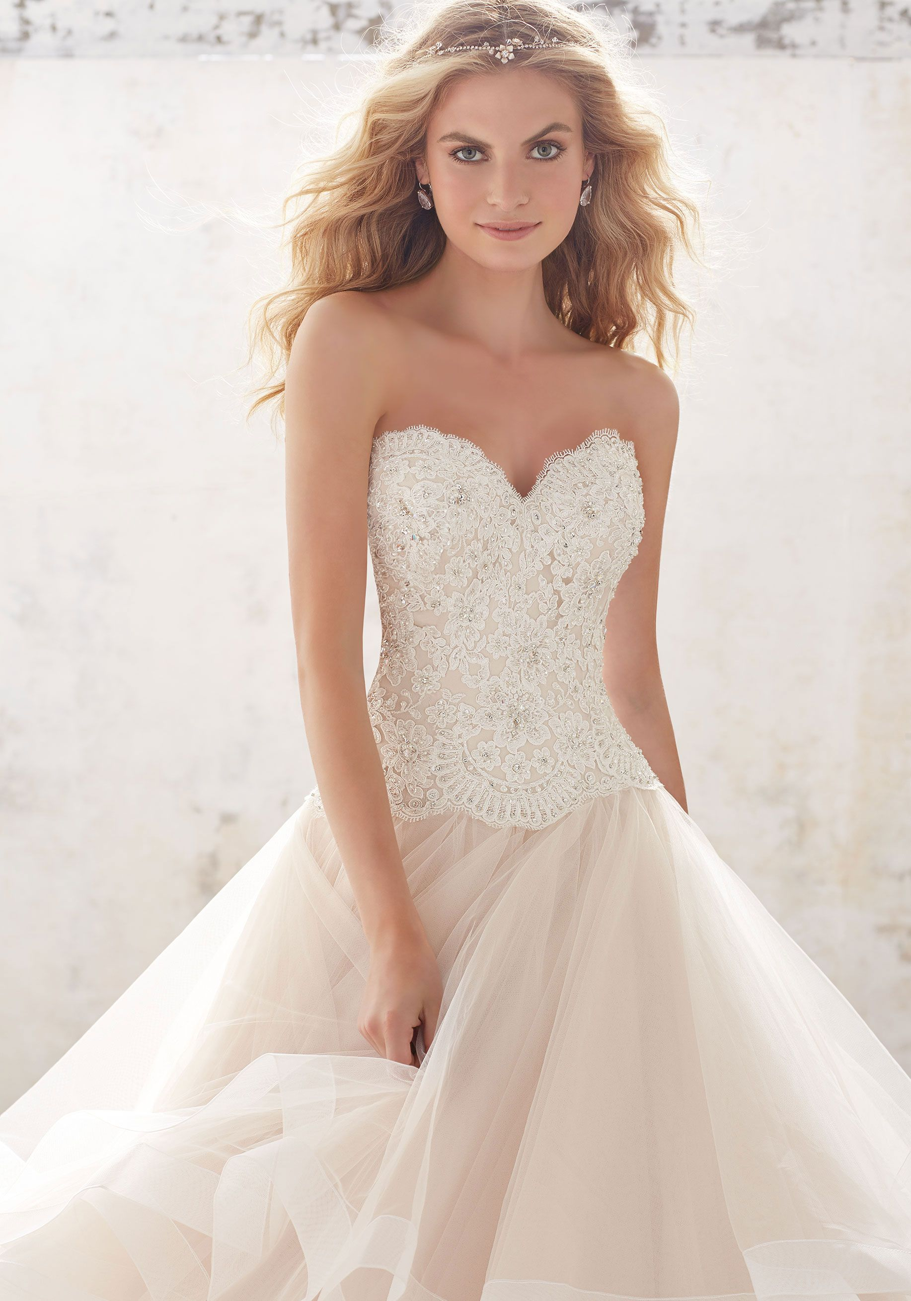Mori lee madeline gardner wedding dress   Wedding Dresses and Bridal Gowns by Morilee designed by