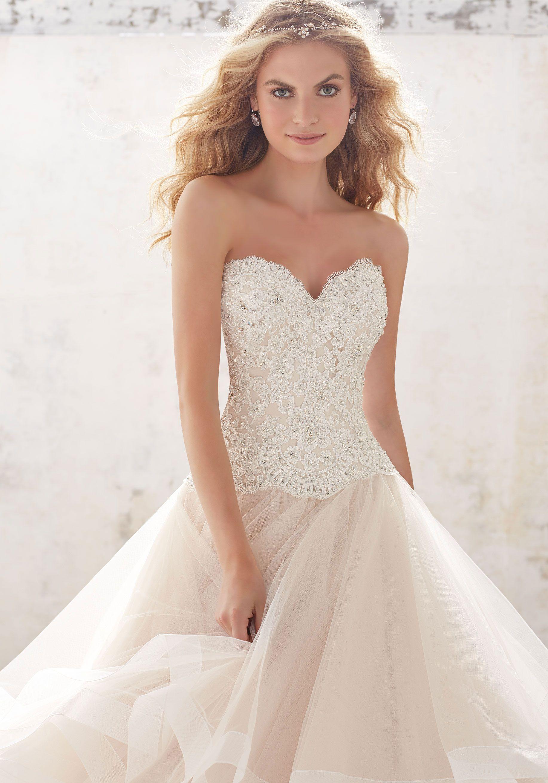 Mori lee madeline gardner wedding dress   Wedding Dresses and Bridal Gowns by Morilee designed by