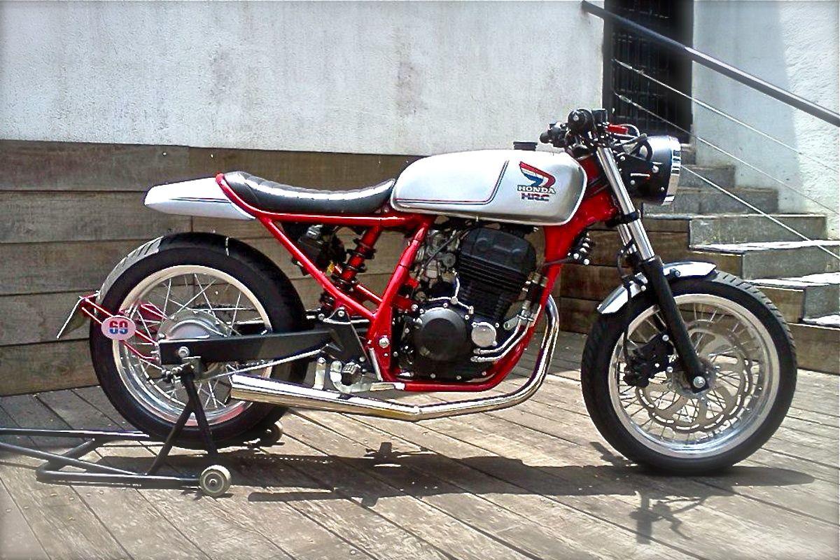 Cbx250 By Old Times Vintage Cafe Racer Cafe Racer Honda Custom Cafe Racer
